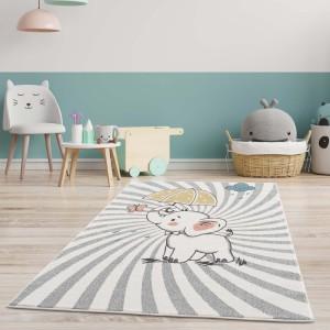 Roztomilý dětský koberec na hraní slůně štěstí