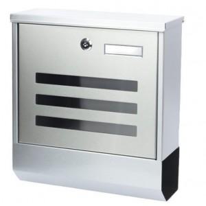 Poštovní schránka z nerezavějící oceli