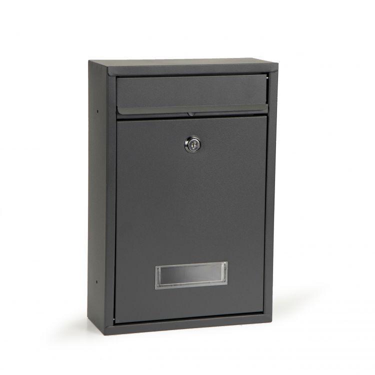 Poštovní schránka antracitové barvy