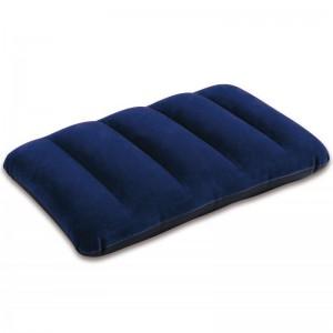 Modrý nafukovací polštářek