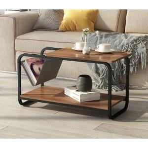 Dvouúrovňový konferenční stolek v moderním provedení