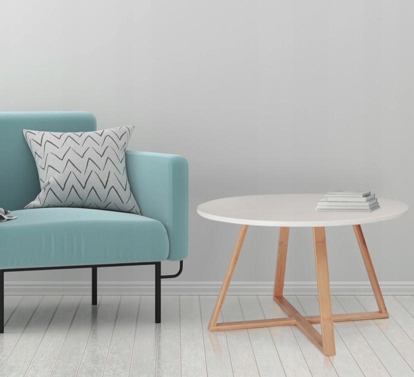 Konferenční stolek v skandinávském stylu 60 cm