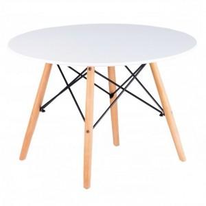 Stylový bílý konferenční stolek