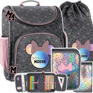 Dívčí školní taška Mickey Mouse v trojsade