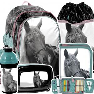Školní 5-dílný set pro milovníky koní