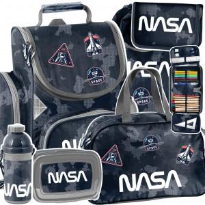 NASA - moderní šesťčasťová školní taška