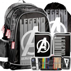Moderní 3-dílný set pro chlapce Avengers