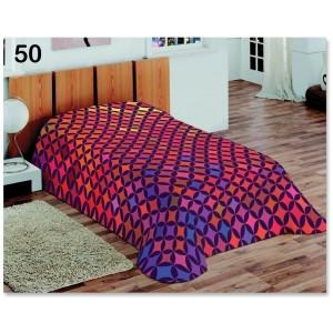 Barevná deka s 3D efektem maličkými hvězdičkami