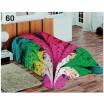 Barevné dekorativní deky a přikrývky s paví pírky
