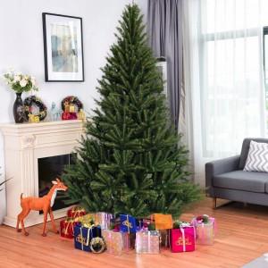 Unikátní vánoční zelený smrk 220 cm