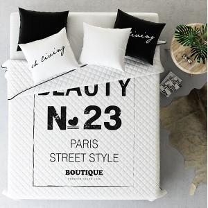 Bílé přehozy na postel street style