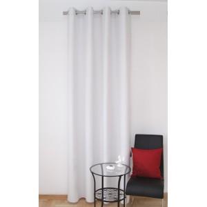 Světle šedé hotové okenní závěsy k přehozem