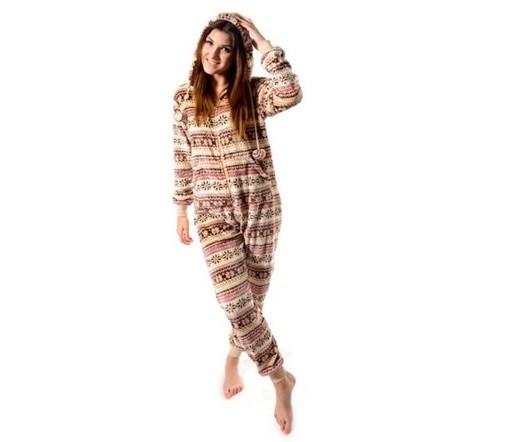 Dámské pyžamové overaly