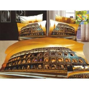 Luxusní povlečení 3D s potiskem Říma