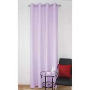 Luxusní světle fialové závěsy na okna