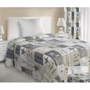 Patchwork přehoz na manželskou postel 170x210 cm