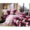 Bavlněné ložní povlečení s růžovými květy