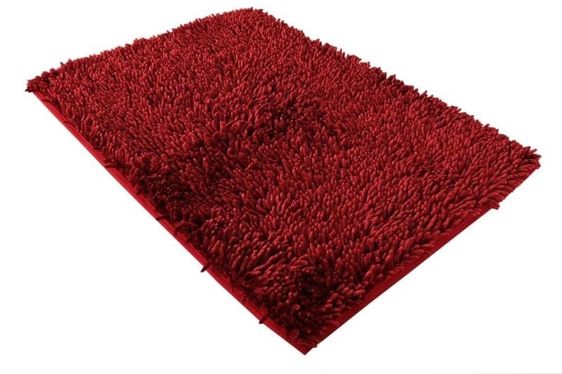 Koupelnová předložka v bordó barvě