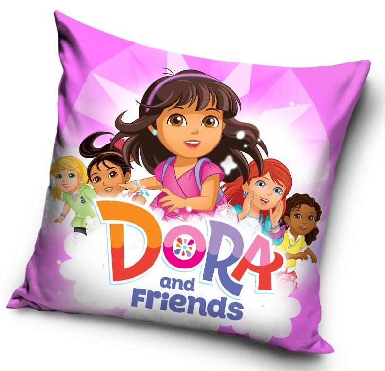 Povlak na polštářek Dora a přátelé