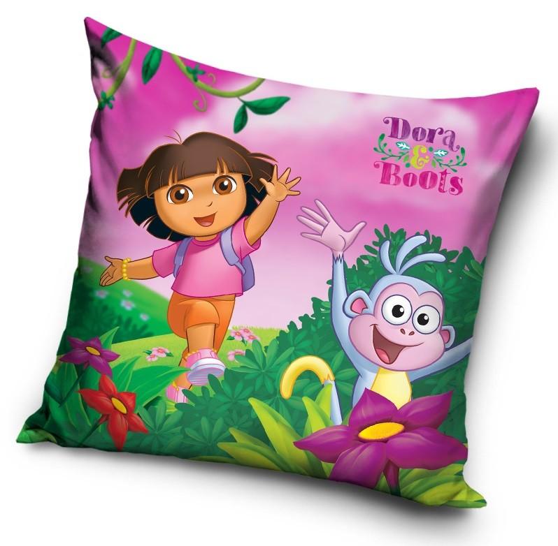 Dekorační povlak na polštář Dora & Boots