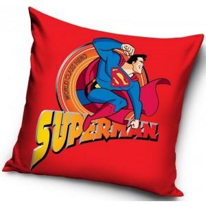 SUPERMAN povlaky na polštáře 40x40 cm