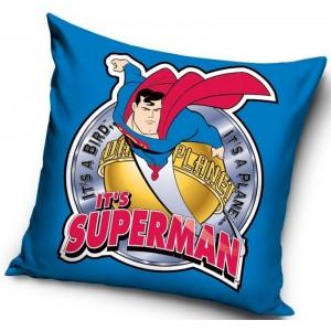 Modré povlaky na polštáře se Supermanem