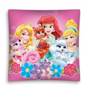 Dívčí povlaky na polštáře se vzorem princezen