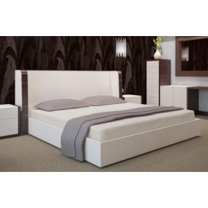 Béžová napínací plachta na postel