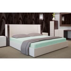 Zelené bavlněné prostěradla na postele