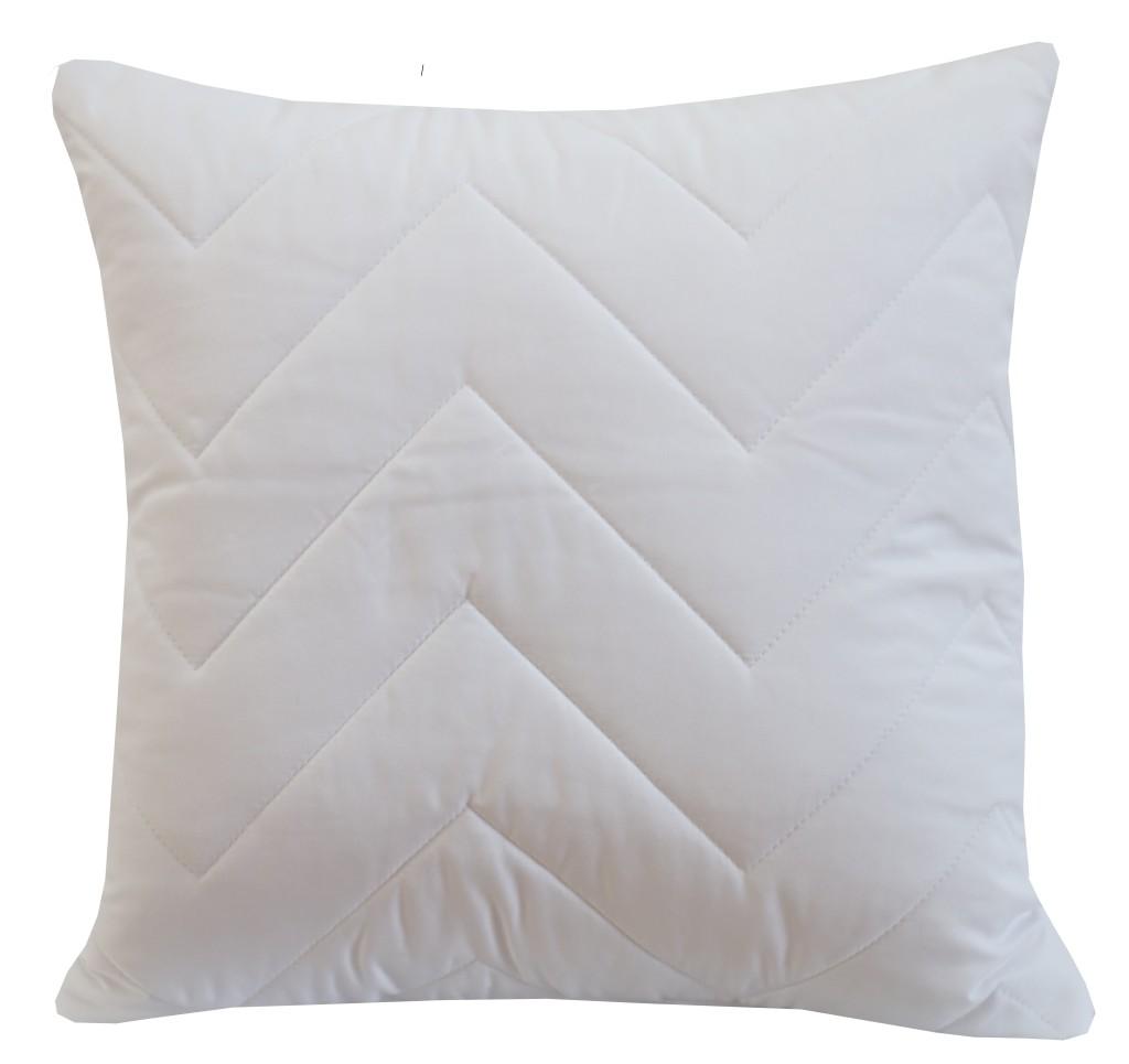 Dekorační povlak na polštář bílé barvy