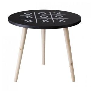 Dekorační stolek s motivem piškvorek