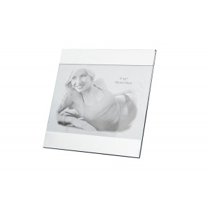 Stříbrný fotorámeček na fotku