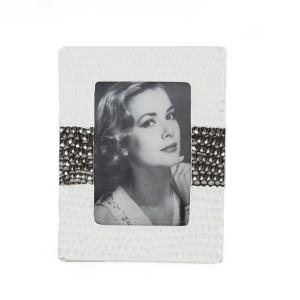 Bílý dekorační rámeček na fotku