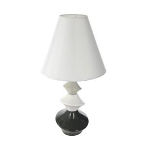 Lampa na noční stolek bílé barvy