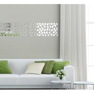 Nalepovací dekorační zrcadla na stěnu