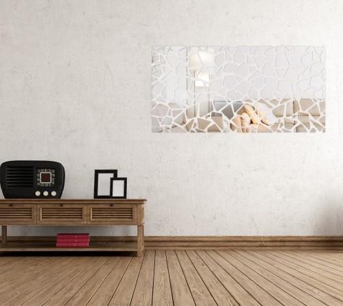 Originální nerozbitné zrcadlo jako dekorace