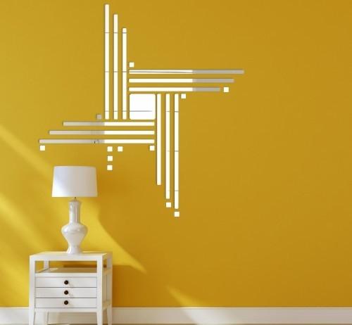 Moderní dekorační doplňky zrcadla na stěnu