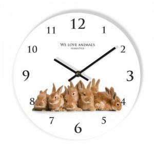 Dětské hodiny se zajíčky