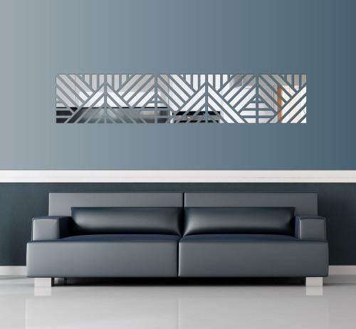 Dekorační nalepovací zrcadla v moderním designu