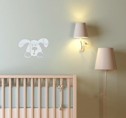 Nalepovací dekorační zrcadlo s dětským motivem