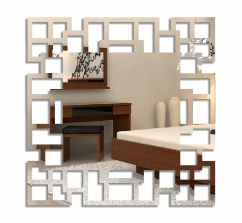 Nalepovací čtvercové zrcadla labyrint