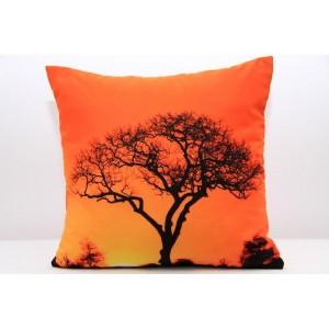 Moderní povlak na polštář s motivem Afrika