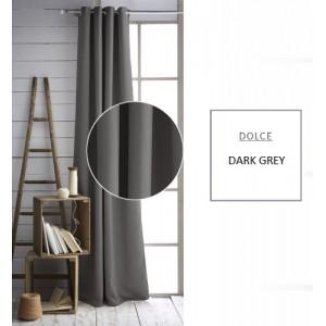 Interiérový závěs tmavě šedé barvy
