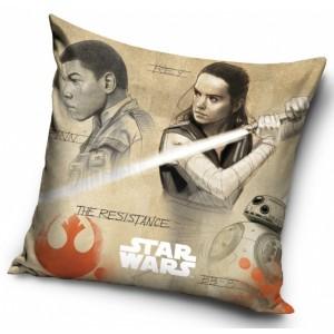 Dětské povlaky na polštáře hnědé barvy s motivem Star wars