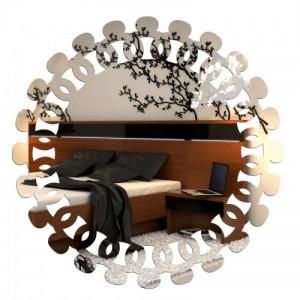 Designové zrcadlo nalepovací