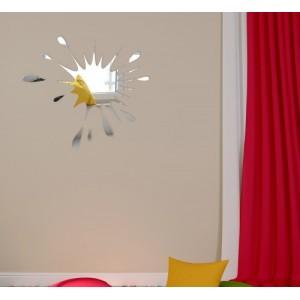 Asymetrické dekorativní zrcadlo do moderního interiéru