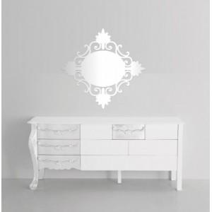 Akrylové dekorační zrcadlo na stěnu
