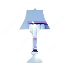 Moderní dekorační zrcadlo lampa