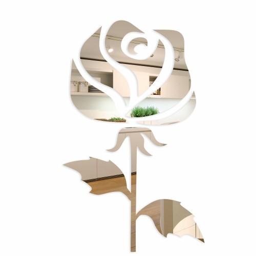 Dekorační interiérové zrcadla ve vzoru ruže