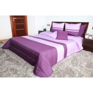 Kvalitní fialové přehozy na postel